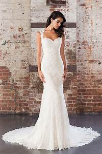 inspired mermaid strapless sweetheart fitted lace wedding With strapless fitted wedding dresses