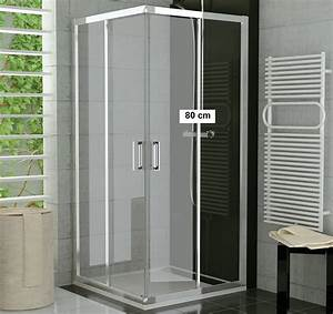 Schiebetür 80 Cm : duschkabine eckeinstieg 80 x 70 x 190 cm schiebet r duschabtrennung dusche eckeinstieg ~ Markanthonyermac.com Haus und Dekorationen