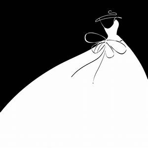 beautiful wedding dress silhouette design vector 03 With wedding dress silhouettes