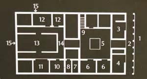 treppe im wohnzimmer aventicum ein typisch römisches haus
