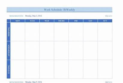 Weekly Calendar Template Blank Templates Pdf Word