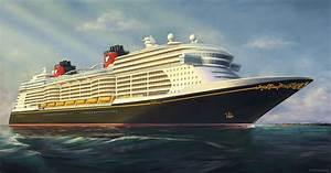 Disney Reveals New Cruise Ship Rendering