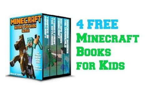 Minecraft Books For Kids  4 Free Kindle Books