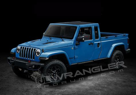 diesel jeep wrangler 2019 jeep wrangler pickup truck to be named scrambler 3