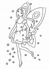 Fairy Coloring Pages Royalty Colouring Sheets Printable sketch template