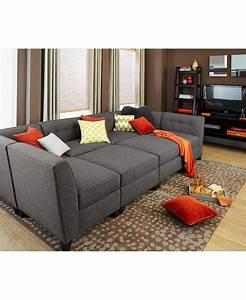 Modular sectional sofa pieces sofa menzilperdenet for Canby 6 piece modular sectional sofa