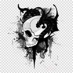 Skull Graffiti Dragon Tattoo Drawing Abstract Background