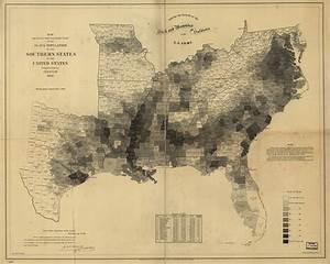 Map of the U.S. Slave Population 1860