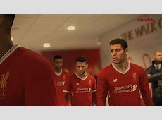Liverpool feature in Pro Evolution Soccer 2018 trailer