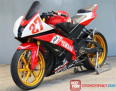 Modifikasi New Vixion Advance Merah by Foto Modifikasi New Yamaha Vixion Merah Fairing