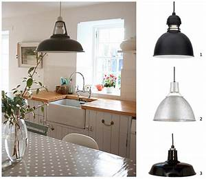 Warehouse kitchen pendants inspired by country farmhouse for Country kitchen hanging lights