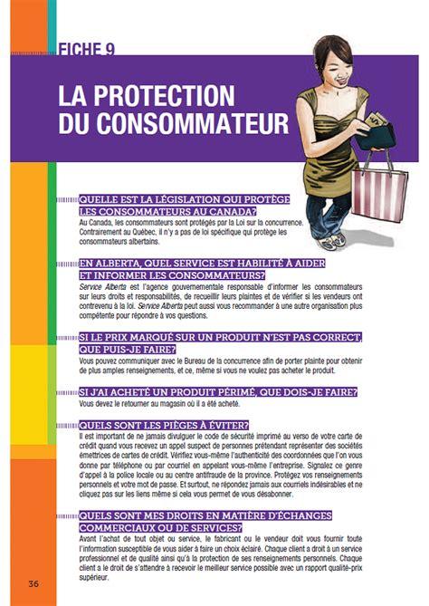 bureau protection du consommateur centre de documentation ajefa