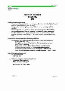 New York Certification Statement Form For Provider Billing