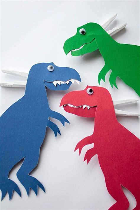 rex kids craft dinosaur crafts preschool dinosaur