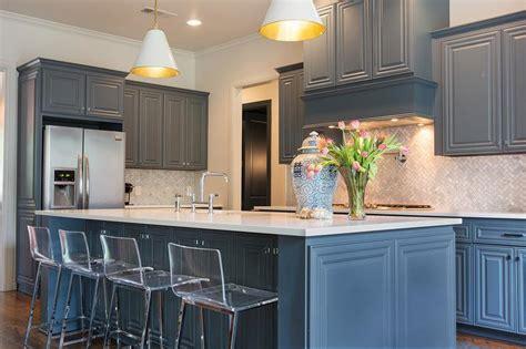 grey kitchen cabinets with backsplash gray blue kitchen cabinets transitional kitchen