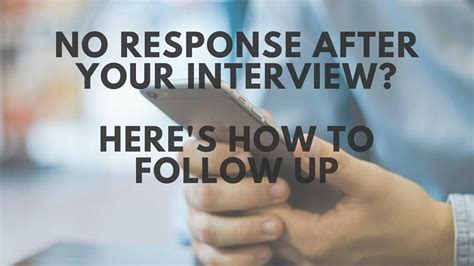 No Response After An Interview? Here's How To Follow Up By. Samples Of A Good Resume. Resume With Cover Letter Example. Good Work Qualities For Resume. Sample Resume For Computer Engineer. Sample Resume Leadership Skills. Sample Resume For A Teacher. Sample Of High School Resume. Experienced Net Developer Resume