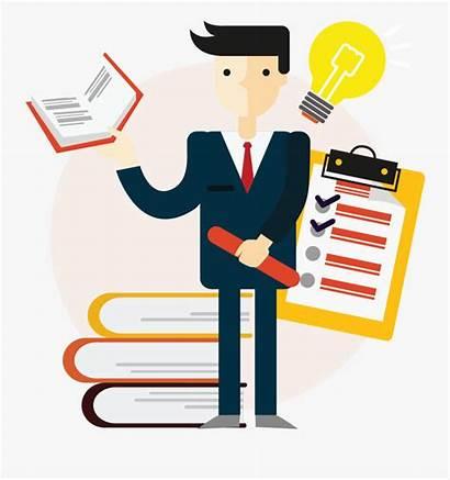 Study Clipart Management Case Contract Vendor Transparent