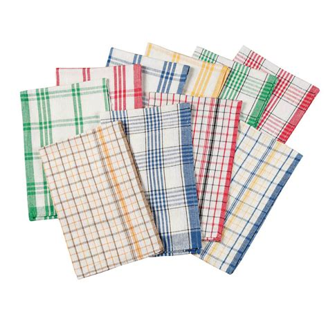 Kitchen Towels by Plaid Kitchen Towels Set Of 10 Kitchen Towels