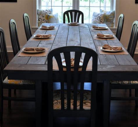diy farmhouse table plans ideas   dining room