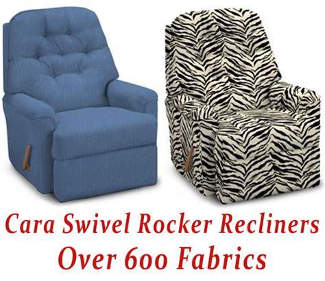 cara swivel rocker recliner