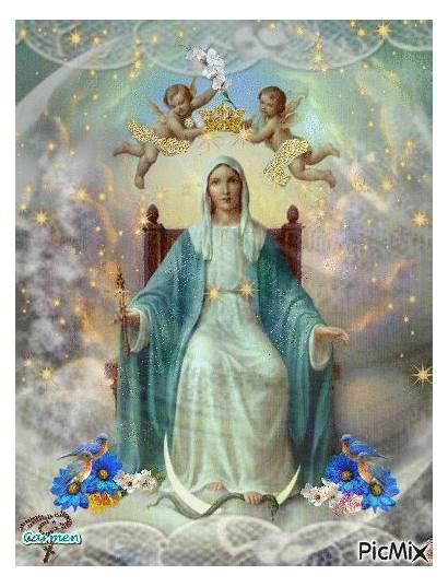 Maria Regina Cielo Della Picmix Vergine Terra