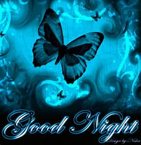 Beautiful Butterfly Good Night Wallpaper - Images, Photos