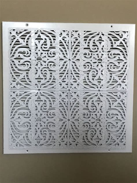Shop our wide selection of vent covers, supply registers, return air grilles and diffusers. ReVent Covers-Decorative Magnetic Wall Vent Covers   Etsy ...