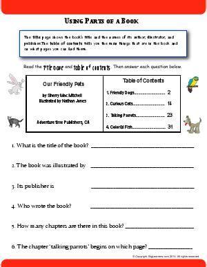 reading comprehension  grade english worksheets