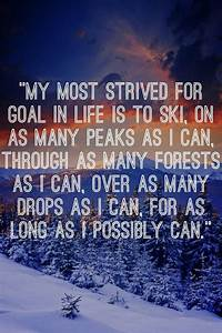 Ski Racing Quot... Skier Quotes