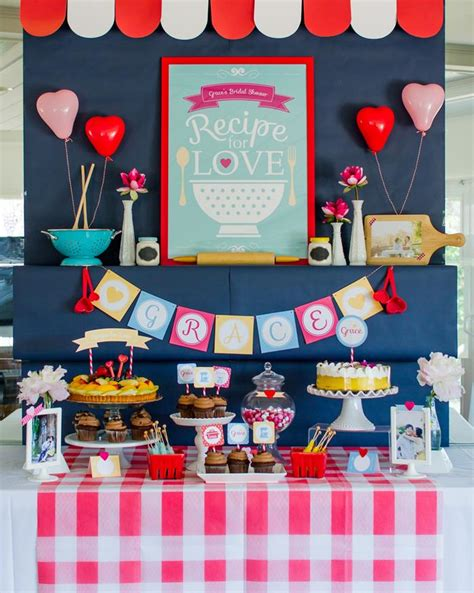 kitchen shower ideas retro kitchen bridal shower with lots of really ideas