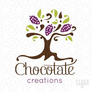 sold logo chocolate creations tree stocklogos