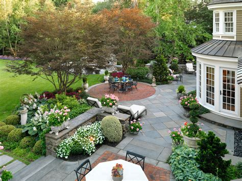 New Patio Ideas by Residence Traditional Landscape Boston