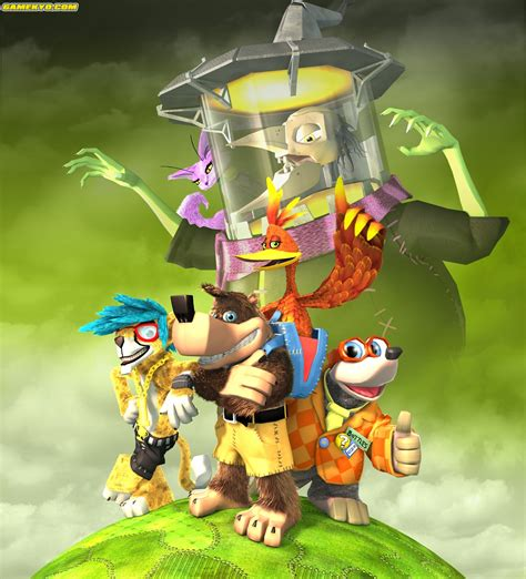 Banjo Kazooie Nuts And Bolts Artwork Mundorare