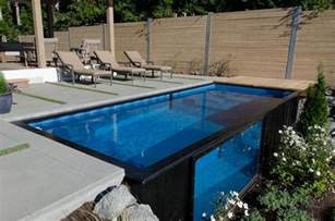 container swimming pool modpool shipping container pool upscout gifts and gear