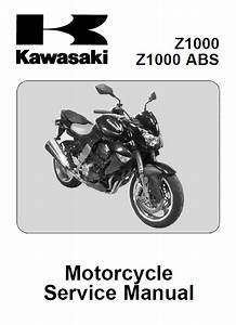 Kawasaki Z1000  Z1000 Abs Motorcycle Service Manual Pdf