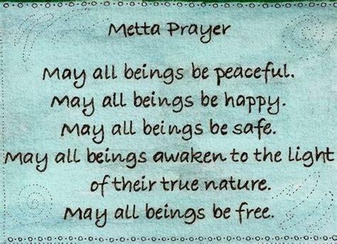metta prayer zen buddhist prayer yoga quotes zen