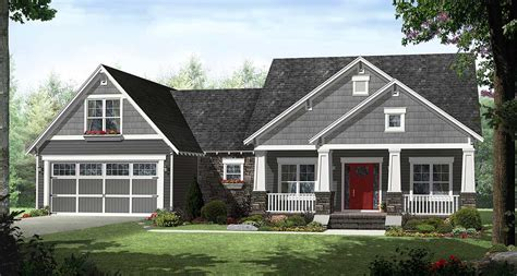 4 bedroom craftsman house plans 4 bedroom craftsman with smart looks 51116mm