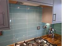 glass backsplash tiles Aqua Glass Backsplash Tile | Large Turquoise Glass Tiles