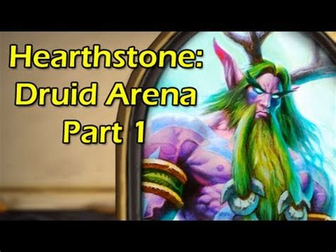 hearthstone druid arena draft with wowcrendor closed