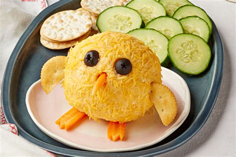 50 easter decorating ideas 50 photos. Baby Chick Bacon Cheese Ball - Kraft Recipes