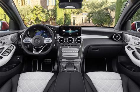 Discover the interior of the new glc suv: Mercedes GLC Coupe gets refreshed looks, new engines for ...