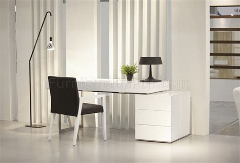loft modern office desk  white  jm