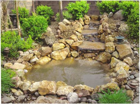 Backyard Ponds Waterfalls Pictures, Back Yard Ponds And