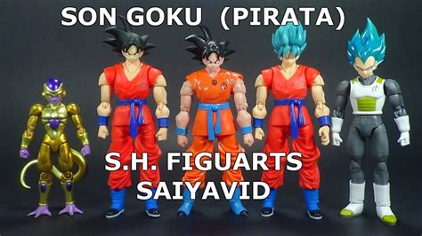 goku sh figuarts pirata dragon ball zsuper review en