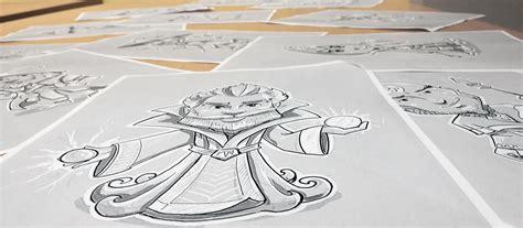 create  cartoon character design   steps