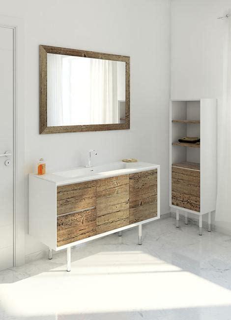 beautiful weathered wood bathroom furniture