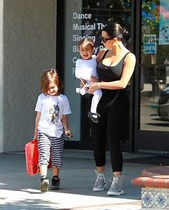 North West Photos Photos - Kim Kardashian Takes North West ...