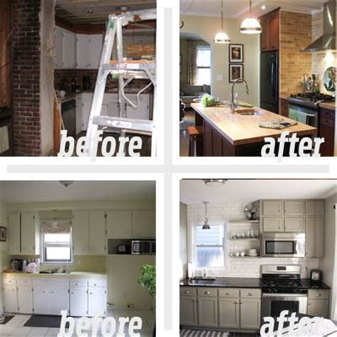 the hub of the home best kitchen before and afters 2011 - Cheap Kitchen Makeover Ideas Before And After