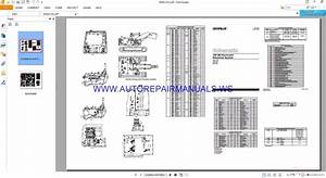 Caterpillar 320 Bu Excavator Electrical Schematics Manuals