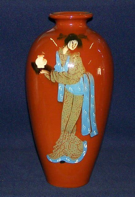 weller jap birdimal lady vase for sale antiques com